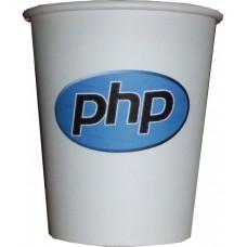 07 Oz PHP Logosu Temalı Karton Bardak (100 lü)